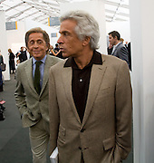 ; VALENTINO; GIANCARLO GIACOMETTI; VALENTINO, Frieze Art Fair 2008. Regent's Park. London. 15 October 2008 *** Local Caption *** -DO NOT ARCHIVE -Copyright Photograph by Dafydd Jones. 248 Clapham Rd. London SW9 0PZ. Tel 0207 820 0771. www.dafjones.com