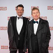 NLD/Rotterdam/20200308 - Premiere Hello Dolly, Hans Cornelissen en partner Ton Backer