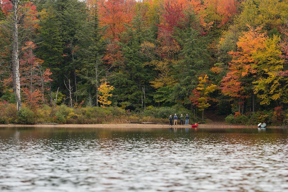 Dr. Paul Caruso, Dr. Jeff Arigo, Dr. Timothy Fallon, and Dr. Tom Giacobbi on Moss Lake awaiting my return.