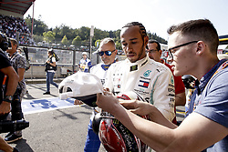 August 31, 2019, Spa-Francorchamps, Belgium: Motorsports: FIA Formula One World Championship 2019, Grand Prix of Belgium, ..#44 Lewis Hamilton (GBR, Mercedes AMG Petronas Motorsport) (Credit Image: © Hoch Zwei via ZUMA Wire)