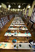 Universities in Vienna, Austria..Universität Wien..The old library. Reading Room.
