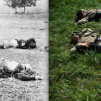 1863, Gettysburg, Pennsylvania / 2012, Perryville, Kentucky
