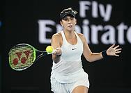 BELINDA BENCIC (SUI)<br /> <br /> Tennis - Australian Open 2018 - Grand Slam / ATP / WTA -  Melbourne  Park - Melbourne - Victoria - Australia  - 15 January 2018.