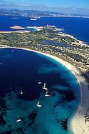 Espa&ntilde;a. Islas Baleares. Espalmador. Vista a&eacute;rea.<br /> <br /> &copy; JOAN COSTA