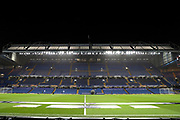 Stamford Bridge during the Champions League group stage match between Chelsea and PAOK Salonica at Stamford Bridge, London, England on 29 November 2018.