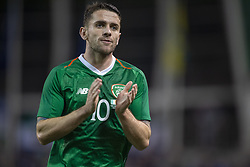 November 15, 2018 - Dublin, Ireland - Robbie Brady of Ireland during the International Friendly match between Republic of Ireland and Northern Ireland at Aviva Stadium in Dublin, Ireland on November 15, 2018  (Credit Image: © Andrew Surma/NurPhoto via ZUMA Press)