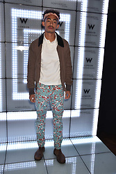 Jordan Stephens at the official launch of The Perception at W London, 10 Wardour Street, London England. 7 November 2017.<br /> Photo by Dominic O'Neill/SilverHub 0203 174 1069 sales@silverhubmedia.com