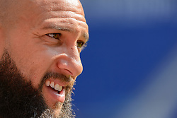 August 31, 2017 - Harrison, New Jersey, United States - Harrison, NJ - Thursday Aug. 31, 2017: Tim Howard during a training day prior to a FIFA World Cup Qualifier between the United States (USA) and Costa Rica (CRC) at Red Bull Arena. (Credit Image: © Howard C. Smith/ISIPhotos via ZUMA Wire)