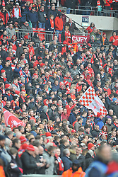 LIVERPOOL FANS, Liverpool FC v Manchester City FC Capital One Cup Final, Wembley Stadium, Sunday 28th Febuary 2016