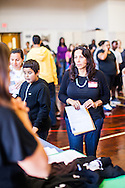 Melrose Leadership Academy holds the first Welcome Day at the new location at Melrose School in Oakland, California.