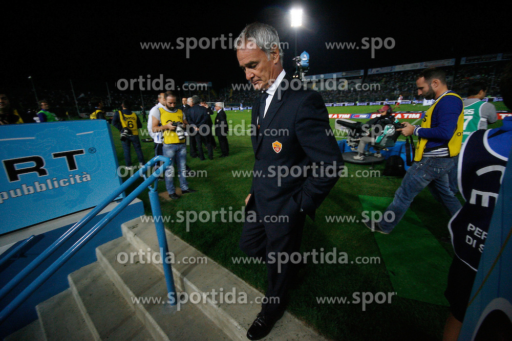 22.09.2010, Stadio Mario Rigamonti, Brescia, ITA, Serie A, Brescia vs AS Roma, im Bild claudio ranieri, EXPA Pictures © 2010, PhotoCredit: EXPA/ InsideFoto/ Prater *** ATTENTION *** FOR AUSTRIA AND SLOVENIA USE ONLY! / SPORTIDA PHOTO AGENCY