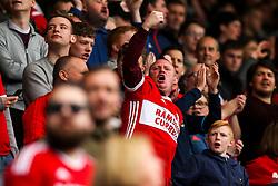 Middlesbrough fans - Mandatory by-line: Robbie Stephenson/JMP - 12/05/2018 - FOOTBALL - Riverside Stadium - Middlesbrough, England - Middlesbrough v Aston Villa - Sky Bet Championship