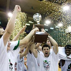 20090602: Basketball - Finals of UPC League, KK Union Olimpija vs KK Helios Domzale, 3rd game