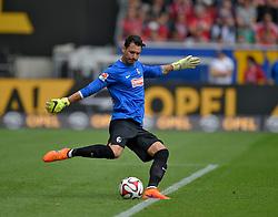 Football: Germany, 1. Bundesliga, SC Freiburg - FC Bayern Muenchen, Freiburg - 16.05.2015,<br /> Roman Buerki (Freiburg)<br /> <br /> &copy; pixathlon<br /> <br /> +++ NED out !!! +++