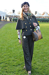 JODIE KIDD at the 2013 Hennessy Gold Cup at Newbury Racecourse, Berkshire on 30th November 2013.