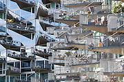 VM Houses, Copenhagen, Denmark. Architect: PLOT = BIG (Bjarke Ingels Group) + JDS. Built: 2005