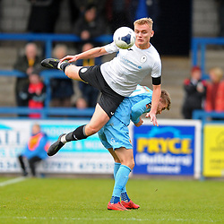 TELFORD COPYRIGHT MIKE SHERIDAN William(Billy) Sass-Davies of Telford (on loan from Crewe Alexandra) during the Vanarama National League Conference North fixture between AFC Telford United and Boston on Saturday, November 2, 2019.<br /> <br /> Picture credit: Mike Sheridan/Ultrapress<br /> <br /> MS201920-028