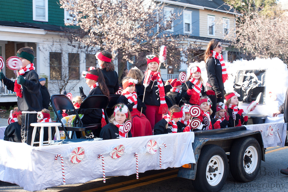 Collingswood Holiday Parade down Haddon Ave. on November 27, 2010.