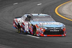 July 14, 2017 - Loudon, NH, United States of America - July 14, 2017 - Loudon, NH, USA: Kyle Busch (18) takes to the track to practice for the Overton's 200 at New Hampshire Motor Speedway in Loudon, NH. (Credit Image: © Justin R. Noe Asp Inc/ASP via ZUMA Wire)