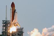 STS-135 Atlantis blasted off on Friday, July 8, 2011.  It was the 135th and final shuttle launch, successfully capping off the 30-year-old space shuttle program.