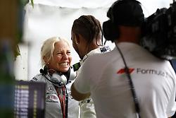 July 22, 2018 - Hockenheim, Germany - Motorsports: FIA Formula One World Championship 2018, Grand Prix of Germany, ..Angela Cullen, #44 Lewis Hamilton (GBR, Mercedes AMG Petronas Motorsport) (Credit Image: © Hoch Zwei via ZUMA Wire)