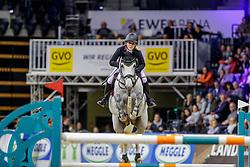 BORMAN Finja (GER), Grey Chester 2<br /> Oldenburg - AGRAVIS Cup 2019<br /> Championat der GVO Versicherung <br /> Youngster Tour<br /> 02. November 2019<br /> © www.sportfotos-lafrentz.de/Stefan Lafrentz