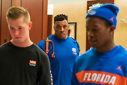 General images as the Florida Gators arrive at the 2018 Chick-fil-A Peach Bowl on Sunday, December 23, 2018. Florida will face Michigan in the 2018 Peach Bowl. (Paul Abell via Abell Images for the Chick-fil-A Peach Bowl)