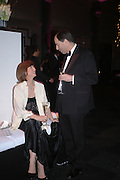 Viscount and Viscountess Mackintosh of Halifax. The Black and White Winter Ball. Old Billingsgate. London. 8 February 2006. -DO NOT ARCHIVE-© Copyright Photograph by Dafydd Jones 66 Stockwell Park Rd. London SW9 0DA Tel 020 7733 0108 www.dafjones.com