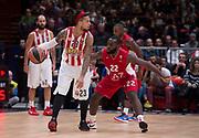 MILANO 30 OTTOBRE 2015<br /> BASKET EUROLEGA<br /> Olimpia EA7 Emporio Armani Milano Olympiacos Pireo<br /> NELLA FOTO Daniel hackett<br /> FOTO CIAMILLO