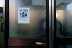 UK ENGLAND LONDON 19AUG11 - Anti-establishment posters in a phone box in Clarence Road, Hackney, east London. During the August riots in London, Clarence Road in Hackney featured some of the most devastating scenes of looting and violence...jre/Photo by Jiri Rezac..© Jiri Rezac 2011
