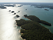 Lake Lanier aerial photos, part of the Chattahoochee River basin