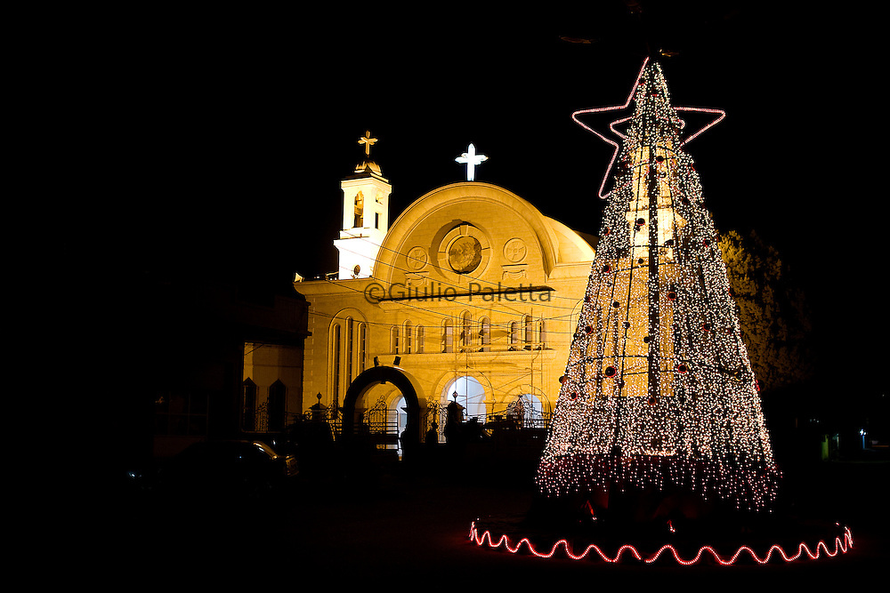 The Christian part of Homs is getting ready to celebrate Christmas