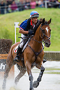 Pascal Leroy, (FRA), Minos De Petra - Eventing Cross - Alltech FEI World Equestrian Games™ 2014 - Normandy, France.<br /> © Hippo Foto Team - Leanjo De Koster