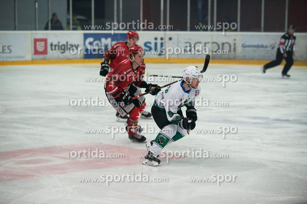 HK SZ Olimpija and HDD SIJ Jesenice Alps League Ice Hockey match between HK SZ Olimpija and HDD SIJ Jesenice, on February 12, 2019 in Ice Arena Podmezakla, Jesenice, Slovenia. Photo by Peter Podobnik / Sportida