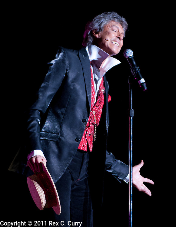 "Tommy Tune performing at Fair Park Music Hall on the Dallas stop of his ""Tommy Tune Steps in Time"" tour on....."