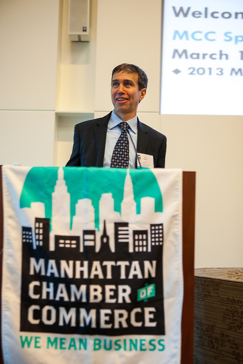 Manhattan Chamber of Commerce Spring Chairman's Breakfast featured the 2013 Manhattan Borough President Candidate Forum at MetLife in New York.