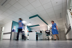 © Licensed to London News Pictures . FILE PICTURE DATED 12/05/2013 .  Salford Royal Hospital , Greater Manchester , UK . Nurses working on a ward in Salford Royal Hospital today (Sunday 12th May) as senior nurses have issued a warning about nurse:patient ratios in England . Photo credit : Joel Goodman/LNP