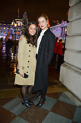 Left to right, AYSHA KALA and actress STEFANIE MARTINI at Skate At Somerset House with Fortnum & Mason on 16th November 2016.Left to right, actress AYSHA KALA and actress STEFANIE MARTINI at Skate At Somerset House with Fortnum & Mason on 16th November 2016.