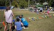 Games for children at the Abita Springs Water Festival on October 16, 2016