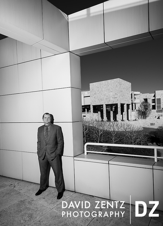 Stephen Clark, General Counsel for the Getty Museum photographed in at the Getty Museum in Los Angeles, Calif.
