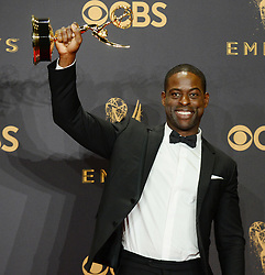 69th Annual Primetime Emmy Awards at Microsoft Theater on September 17, 2017 in Los Angeles, California. 17 Sep 2017 Pictured: Sterling K. Brown. Photo credit: MEGA TheMegaAgency.com +1 888 505 6342