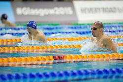 EVERS Marc, QUIN Scott NED, GBR at 2015 IPC Swimming World Championships -  Men's 100m Breaststroke SB14 - Finals