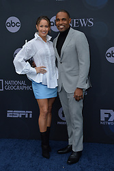 May 14, 2019 - New York, NY, USA - May 14, 2019  New York City..Jaina Lee Ortiz and Jason Winston George attending Walt Disney Television Upfront presentation party arrivals at Tavern on the Green on May 14, 2019 in New York City. (Credit Image: © Kristin Callahan/Ace Pictures via ZUMA Press)