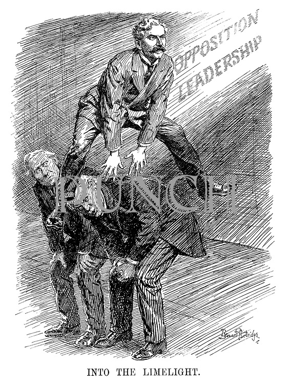 Into the Limelight. ('Leader of the Oppostion' Ramsay MacDonald leapfrogs Asquith and Lloyd George)