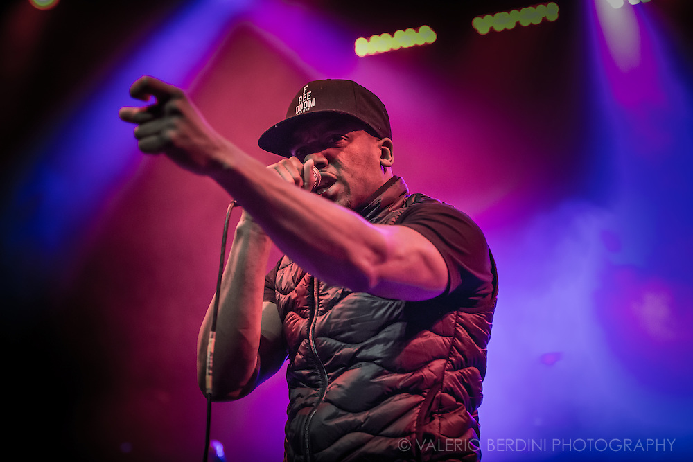 Bugzy Malone live at the Cambridge Corn Exchange for the NME Awards Tour 2016 in collaboration with Austin, Texas. 9 Feb 2016