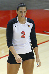 01 September 2012:  LeighAnn Hranka during an NCAA womens volleyball match between the Oregon State Beavers and the Illinois State Redbirds at Redbird Arena in Normal IL