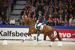 Verlouw Cora (NED) - Five Star<br /> KWPN Stallion Selection - 's Hertogenbosch 2014<br /> © Dirk Caremans