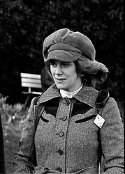CAMILLA PARKER BOWLES in March 1977.<br /> HYY 23 WORO