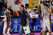 DESCRIZIONE : Pistoia Lega A 2014-2015 Giorgio Tesi Group Pistoia Banco di Sardegna Sassari<br /> GIOCATORE : Paolo Moretti<br /> CATEGORIA : pregame<br /> SQUADRA : Giorgio Tesi Group Pistoia<br /> EVENTO : Campionato Lega A 2014-2015<br /> GARA : Giorgio Tesi Group Pistoia Banco di Sardegna Sassari<br /> DATA : 20/10/2014<br /> SPORT : Pallacanestro<br /> AUTORE : Agenzia Ciamillo-Castoria/GiulioCiamillo<br /> GALLERIA : Lega Basket A 2014-2015<br /> FOTONOTIZIA : Pistoia Lega A 2014-2015 Giorgio Tesi Group Pistoia Banco di Sardegna Sassari<br /> PREDEFINITA :