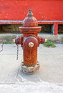 Fire hydrant in Cardenas, Matanzas, Cuba.